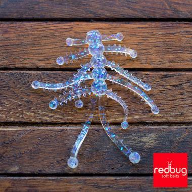 Радужный бело-голубой неон 0,6 мм 10гр Redbug