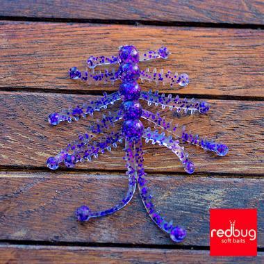 Пурпурная голография 0,6 мм 10гр Redbug