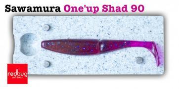 Sawamura One'up shad 90 (реплика)