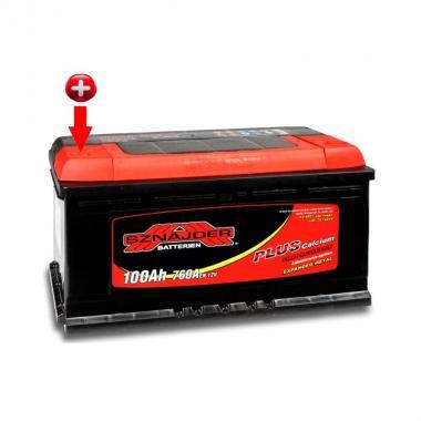 Аккумулятор лодочный тяговый Sznajder Energy 100Ah