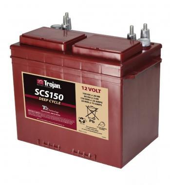 Аккумулятор лодочный тяговый Trojan SCS150