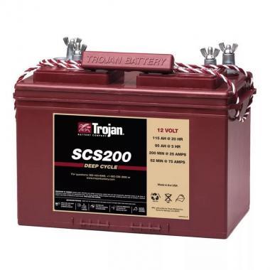 Аккумулятор лодочный тяговый Trojan SCS200