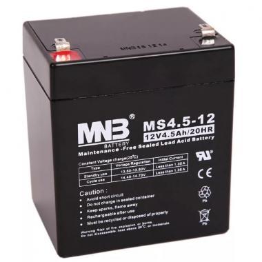 Аккумулятор свинцово-кислотный Casil MHB MS4.5-12 - 12В 4,5Ач.