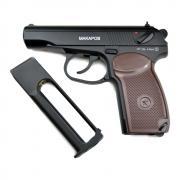 Пистолет пневматический Cybergun РМ (МАКАРОВ), к.4.5 мм. металл, черный, 120 м/с