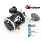 Катушка мультипликаторная Surf Master Zester ZES 500, 2+1bb, со счетчиком; SM-ZES500-3