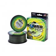 Леска плетеная Power Pro 275 м Moss Green