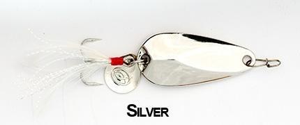 Блесна Kosadaka CLOGS 28мм (5г) Silver CLS-05S