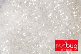 Блестки Белые 0,6мм 10гр Redbug