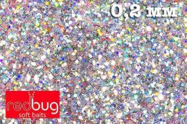 Блестки Голографические 0,2 мм 10гр Redbug