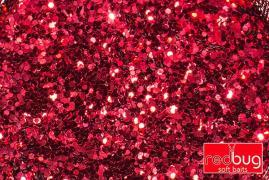 Блестки Красные 0,6мм 10гр Redbug