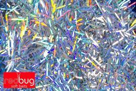 Палочки Голографические 4мм/0.3мм 10гр Redbug