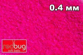 """Флуоресцентные блестки """"Розовый Неон"""" 10гр 0,4мм Redbug"""