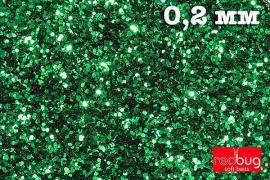 Блестки Зеленые 0,2 мм 10гр Redbug