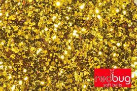 Блестки Золото 0,6мм 10гр Redbug