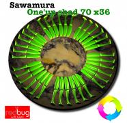 Sawamura One'up shad 70 x36 (реплика)
