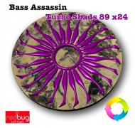 Bass Assassin Turbo Shads 89 x24 (реплика)