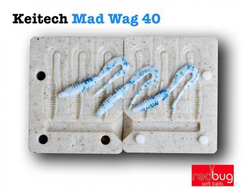 Keitech Mad Wag 40 (реплика)