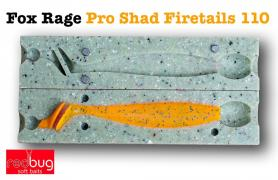 Fox Rage Pro Shad Firetails 110 (реплика)